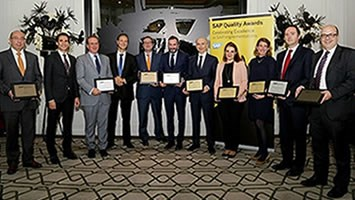 Secil distinguida com troféu bronze dos SAP Quality Awards